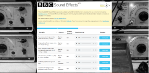 Free Sound Effects by BBC