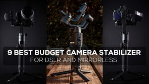 9 Best Budget Camera Stabilizer for DSLR and Mirrorless