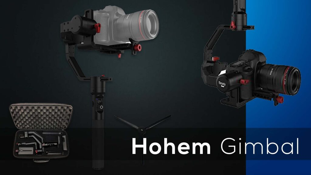camera handheld stabilizer and 3-axis gimbal
