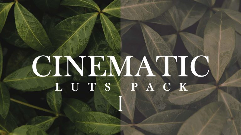 Free Cinematic Luts Pack – 1