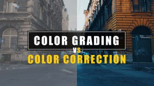 Difference Between Colour Correction and Colour Grading