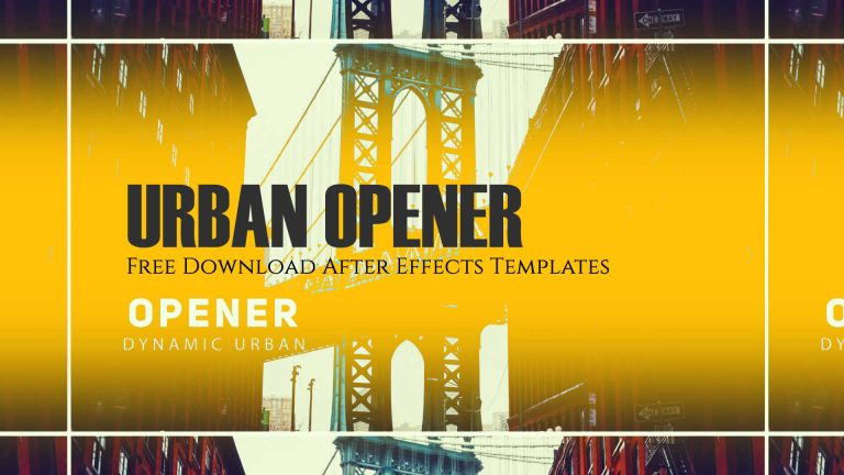 Urban Opener – Free Download After Effects Templates from Reversetree Media